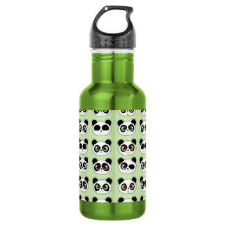 Cute Pandas with Attitude Pattern 532 Ml Water Bottle