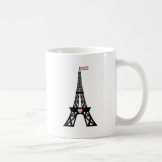 Cute Paris Eiffel Tower Coffee Mug