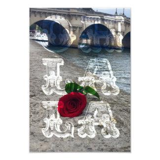 Cute Parisian invitations