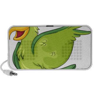 Cute parrot portable speakers