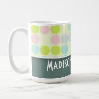 Cute Pastel Color Basic White Mug