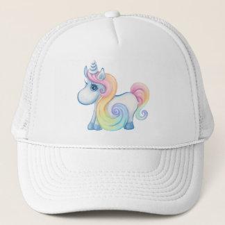 Cute Pastel Colored Unicorn Trucker Hat
