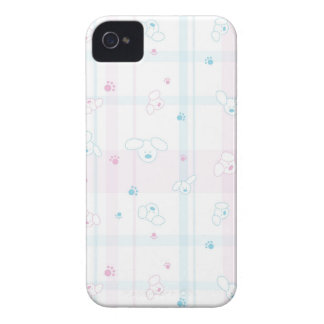Cute pattern with dogs iPhone 4 Case-Mate cases