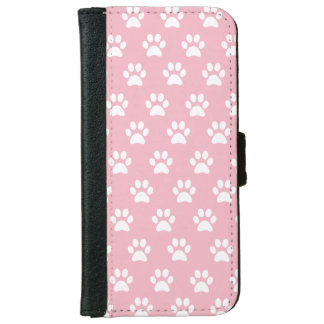 Cute Paw Print Phone Wallet Case
