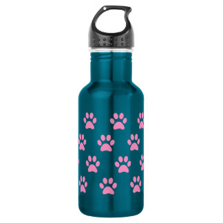 Cute Paw Print Stainless Steel  Water Bottle