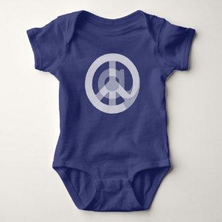 Cute @Peace Sign Social Media At Symbol Peace Sign Baby Bodysuit