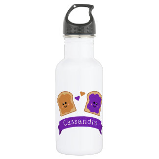 Cute Peanut Butter and Jelly 532 Ml Water Bottle