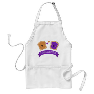 Cute Peanut Butter and Jelly Standard Apron