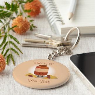 Cute Peanut Butter Jar | Keychain