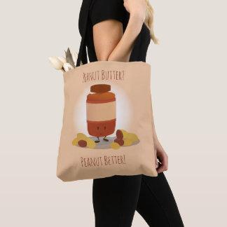 Cute Peanut Butter Jar | Tote Bag