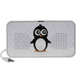 Cute penguin cartoon portable speakers