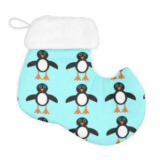 Cute Penguin Christmas Stocking Elf Christmas Stocking