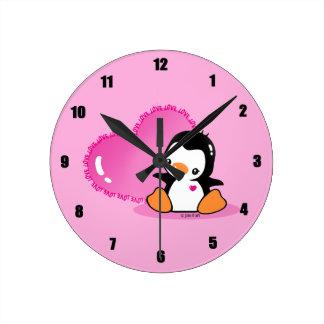 Cute Penguin Clocks