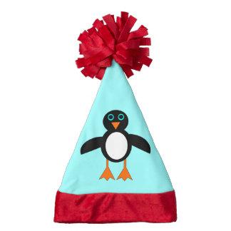 Cute Penguin Custom Santa Hat