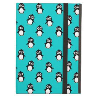 Cute penguin pattern iPad case