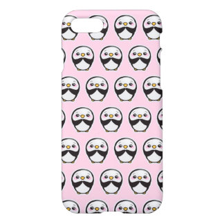 Cute Penguin (Pink) iPhone 8/7 Glossy Case