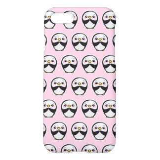 Cute Penguin (Pink) iPhone 8/7 Matte Case