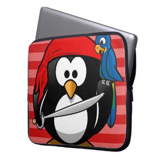 Cute Penguin Pirate Notebook Sleeve Laptop Sleeve
