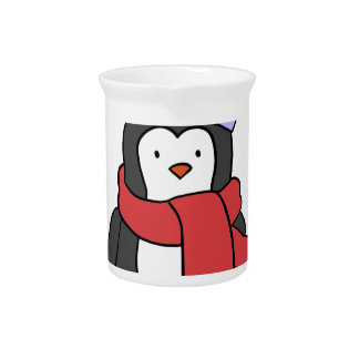 CUTE PENGUIN PITCHER