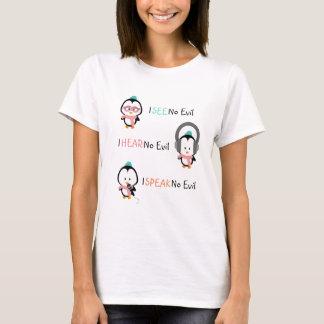 Cute Penguin T-Shirt | See Hear Speak No Evil