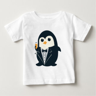 cute penguin tuxedo animal adorable baby T-Shirt
