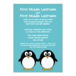 Cute Penguin Wedding Invitation