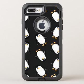 Cute Penguins Pattern OtterBox Defender iPhone 8 Plus/7 Plus Case
