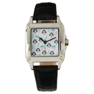 cute penguins watch