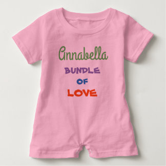 Cute Personalized Baby Rompers Baby Clothing Baby Bodysuit