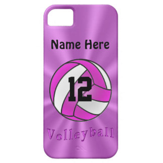 Cute Personalized iPhone 5S Volleyball Cases
