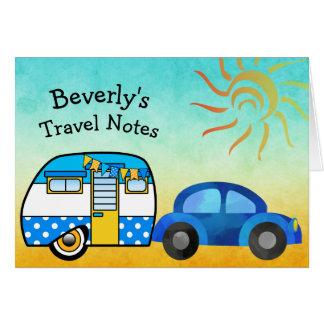Cute Personalized Road Trip Card