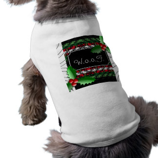 Cute Personalized Ugly Sweater Dog Holiday  Shirt