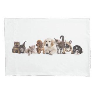 Cute Pet Panorama (1 side) Pillowcase
