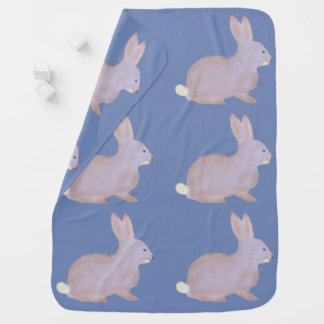 Cute Peter Cottontail Baby Blanket