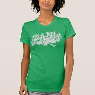 Cute Philly Irish Shamrock Tshirt