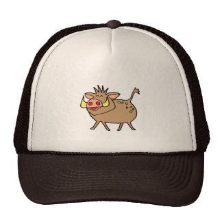 cute pig cap hats