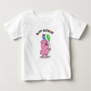 d967b39f Cute Happy Birthday Pig Gifts Clothing - Apparel, Shoes & More ...