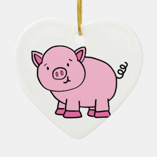 CUTE PIG CERAMIC ORNAMENT