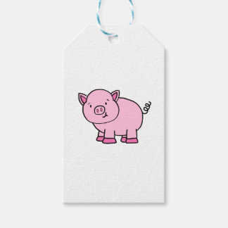 CUTE PIG GIFT TAGS