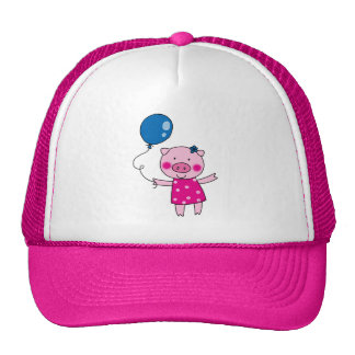 Cute pig hat