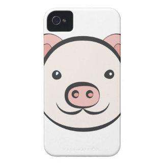 Cute Pig iPhone 4 Cover