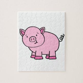 CUTE PIG JIGSAW PUZZLE