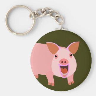 Cute Pig Keychain
