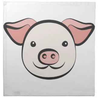 Cute Pig Napkin