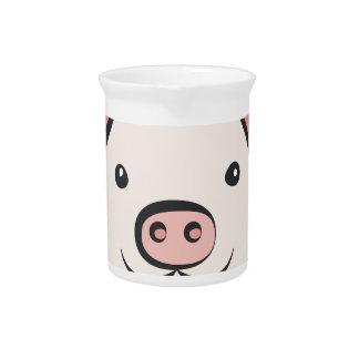Cute Pig Pitcher