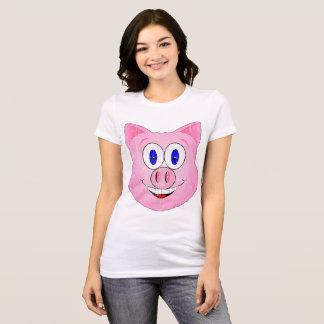 Cute Piggie Face T-Shirt