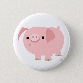 Cute piggy button badge