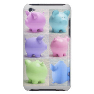 Cute Piggy Collage iPod Touch Covers