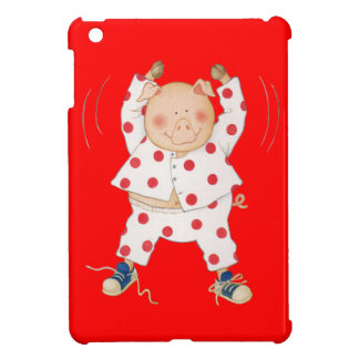 Cute Piggy Exercising Case For The iPad Mini