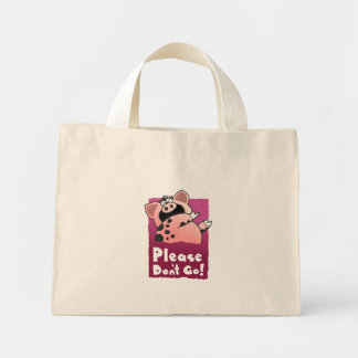 Cute Piggy Mini Tote Bag